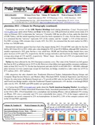 Week of January 1, 2013 – Photo Imaging News International Edition