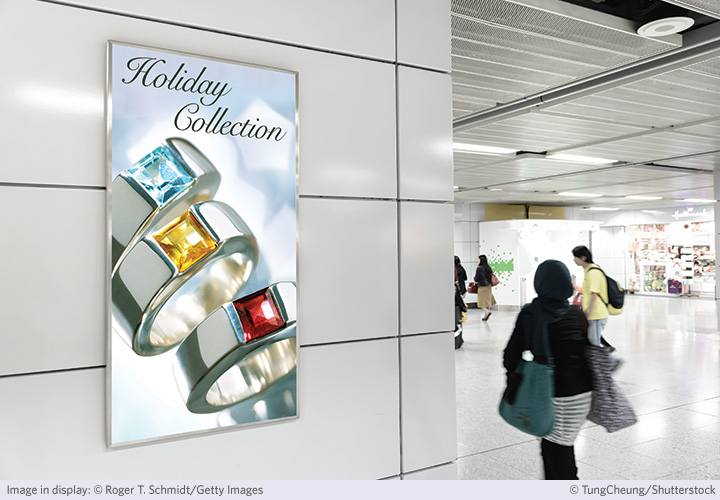 Kodak Alaris Enhances Commercial Advertising Displays with New UV-Curable Clear Display Film