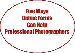 5 Ways Online Forms  Help Professional Photographers