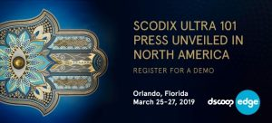 Register for a Scodix Ultra 101 press demo at Dscoop Edge of the Americas
