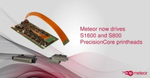 Meteor builds upon Epson success with support for two new PrecisionCore printheads